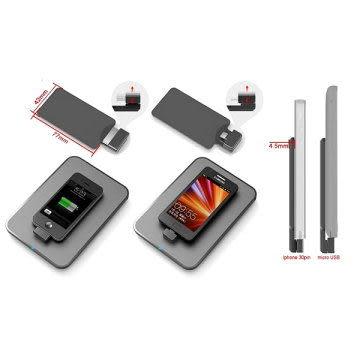 TEKMAX Qi無線充電背夾 無線充電背蓋 qi認證 NCC認證 保固一年iphone3GS 4S iPAD 2 new HTC One Butterfly s