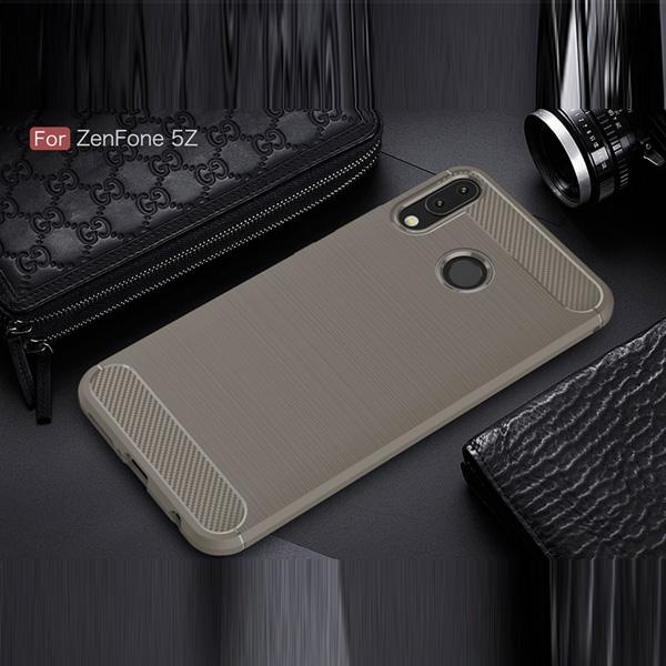 華碩 ZenFone 5 ZE620KL 5Q ZC600KL 5Z ZS620KL 手機殼 碳纖紋拉絲 全包邊 防摔 軟殼 保護殼