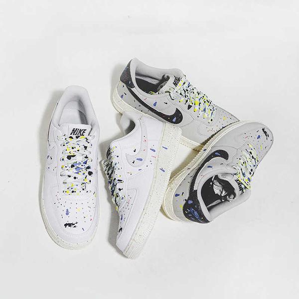 IMPACT Nike Air Force 1 Low Paint Splatter 潑墨 潑漆 CZ0339-100 CZ0339-001