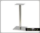{{ 海中天休閒傢俱廣場 }} C-99 摩登時尚 餐桌腳系列 484-04 底盤不鏽鋼加重型餐桌腳
