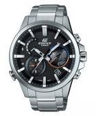 卡西歐CASIO EDIFICE藍芽世界時區錶(EQB-600D-1A)黑面/47mm/原廠公司貨