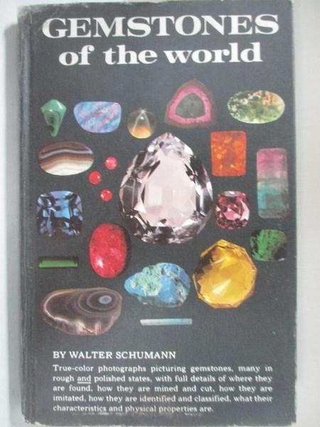 【書寶二手書T1/科學_B6L】Gemstones of the World_Christine Woodward, Roger Harding