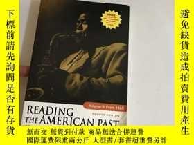 二手書博民逛書店Reading罕見the American Past, Volu