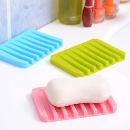 創意矽膠可瀝水肥皂盒 香皂盒 肥皂盒 防滑皂墊 皂盒 肥皂盤 瀝水 衛浴 浴室