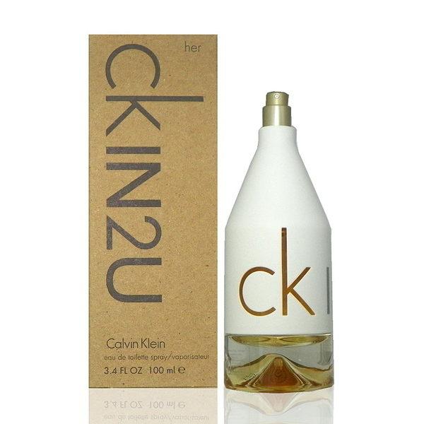 Calvin Klein CKIn2U Her 女性香水 100ml Test 包裝