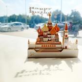 會響的立體便利貼便簽紙夢幻城堡3d建筑模型生日禮物新年聖誕禮物 星河光年DF