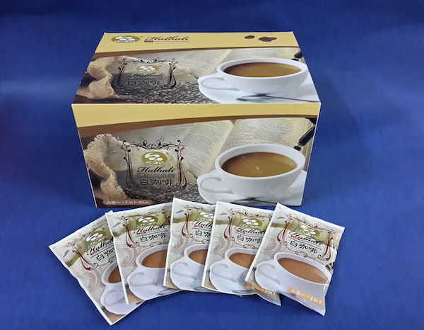 (限定 貨運/宅配)【品皇咖啡】哈拉里白咖啡即溶二合一咖啡,無糖, 25g*68入 量販盒裝