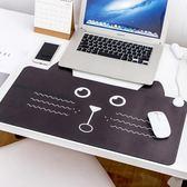 滑鼠墊卡通電腦暖手桌面發熱板辦公室桌墊加熱鼠標墊   SQ12260『伊人雅舍』TW