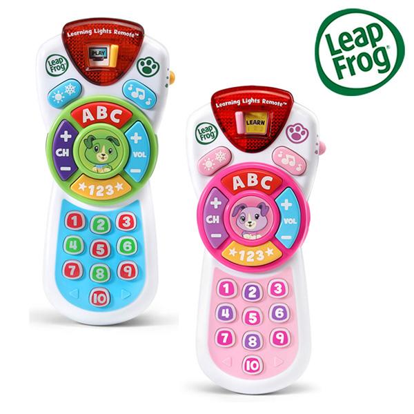 Leap frog 跳跳蛙 新版學習遙控器 (藍綠/粉)【佳兒園婦幼館】