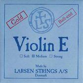小叮噹的店- 小提琴弦 (第一弦 鍍金 E弦) 丹麥 Larsen Original Medium 淺藍 5521G