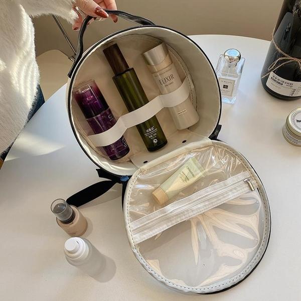 化妝包大容量精致時尚女便攜化妝品收納包盒手提包【匯美優品】
