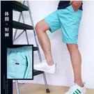 【大盤大】(A959) 男 M-3XL 休閒短褲 五分褲 寬鬆 素色 透氣 口袋 夏 拉鏈 工作褲 薄款 涼感 時尚潮流