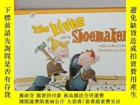 二手書博民逛書店the罕見elves and the shoemakerY124