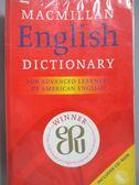 【書寶二手書T1/字典_YKM】Macmillan English Dictionary_Rundell, Michael_無附光碟