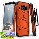 【美國代購】Zizo Bolt系列 三星Galaxy S8 Plus保護套軍用級摔落測試 橙黑色