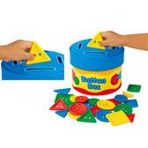 【華森葳兒童教玩具】數學教具系列-形狀收集盒 N8-AA775