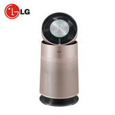 【LG樂金】韓國原裝360°空氣清淨機AS601DPT0(玫瑰金色)