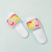 【現貨】Reebok PRIDE 拖鞋 休閒 潑墨 彩色 渲染 舒適 防水 緩震 男女鞋 FY5353