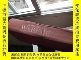 二手書博民逛書店b0042破罕見精裝a history of warfare f