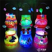 兒童手工創意DIY粘貼畫琉璃瓶水晶玻璃彩瓶發光親子馬賽克材料包 伊芙莎