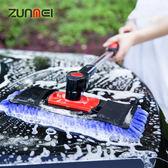 洗車工具刷車拖把伸縮式棉質擦車神器