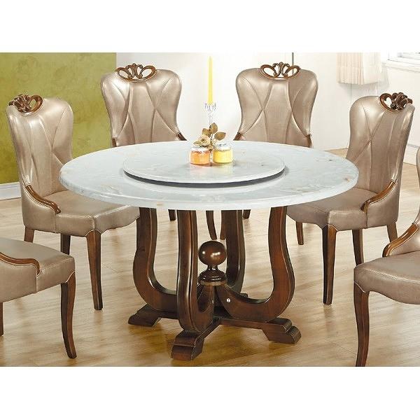 餐桌 BT-239-1 806大理石圓桌 (不含椅子)【大眾家居舘】
