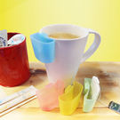金德恩【台灣製造】貼心茶包架/ 糖包架 一組四入裝