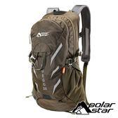 【PolarStar】休閒透氣背包20L『軍綠』P18727 旅遊.多隔間.登山背包.後背包.肩背包.手提包.行李包