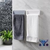 毛巾架浴室毛巾桿廚房衛生間單桿毛巾掛架浴巾架【古怪舍】
