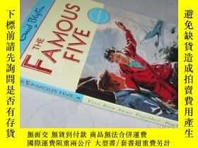 二手書博民逛書店The罕見Amoous Five:Five Run Away Together【32開 英文原版】Y16472