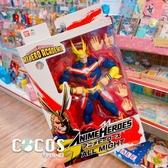 美版 BANDAI ANIME HEROES 我的英雄學院 歐爾麥特 可動公仔 擺飾 COCOS FG680