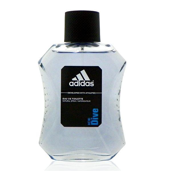 Adidas Ice Dive 品味透涼淡香水 100ml 無外盒包裝