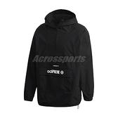 adidas 長袖T恤 Originals adiPRENE Windbreaker 黑 白 男款 風衣 防風 運動休閒 【ACS】 GD5999