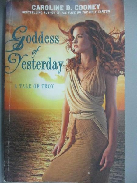 【書寶二手書T4/歷史_ICQ】Goddess of Yesterday_Cooney, Caroline B.