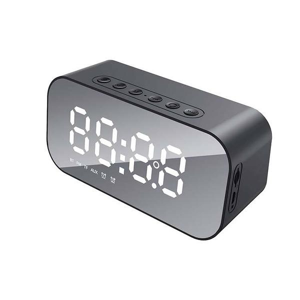 海威特MX701鏡面藍牙音箱 LED顯示功能