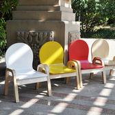 兒童椅子可調節實木兒童椅寶寶凳子嬰兒靠背椅幼兒園小椅子木質     igo  琉璃美衣
