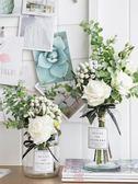 仿真花客廳花瓶裝飾品擺件餐桌花藝擺件
