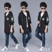 中大尺碼童裝男童外套新款5兒童6中長款9中大童夾克10上衣15歲 js9059『miss洛羽』