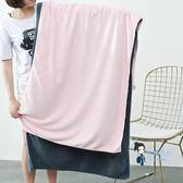 浴巾 大浴巾超強吸水樸左柔軟成人男女情侶裹胸速幹薄款夏季 多色