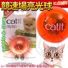 【zoo寵物商城】Hagen Catit》貓咪喵星2.0樂活系列LED競速場亮光球