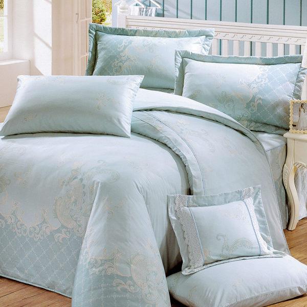 花嫁系列-精梳純棉 兩用被床罩組 雙人八件式-冬季戀歌 /RODERLY