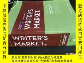 二手書博民逛書店2010罕見89TH ANNUAL EDITION WRITER