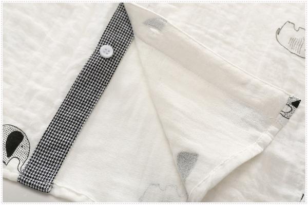 男童襯衫全棉2019秋秋款兒童柔軟襯衫寶寶長袖襯衫雙層紗9519Mandyc