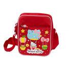 ★funbox生活用品★《Sanrio》HELLO KITTY童用側肩背包(繽紛熱氣球)_RD00152