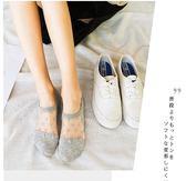 船襪女純棉淺口硅膠防滑隱形襪玻璃絲襪
