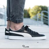 Puma 休閒鞋 Basket Classic 黑 白 基本款 皮革 男鞋 女鞋【ACS】 35191202