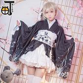【三町目】春日野穹cos穹妹黑色和服浴衣cosplay服裝女  SMY12569【KIKIKOKO】