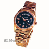 Arseprince  雍容華貴日誌型中性錶-黑