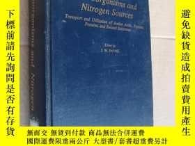二手書博民逛書店Microorganisms罕見and Nitrogen Sou