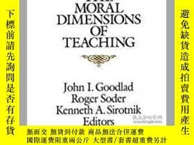 二手書博民逛書店The罕見Moral Dimensions of Teachin